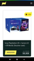 PlayStation VR 99.90€ στον Γερμανό με What's Up Student