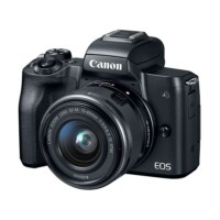 [Update] Canon EOS M50 15-45S Black