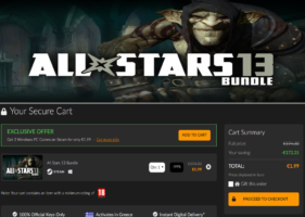 All Stars 13 Bundle (Styx: Master of Shadows+Sniper: Ghost Warrior Trilogy+V-Rally 4+Overlord: Ultimate Evil Collection+Narcos: Rise of the Cartels+American Fugitive+Guilty Gear X2 #Reload) στα 1.99 €, από Fanatical